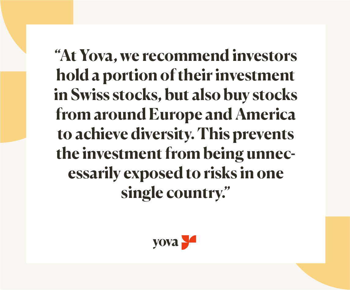 Invest in Switzerland advice Yova